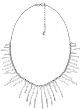 Lord & Taylor Sterling Silver Fringe Necklace