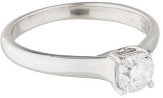 Tiffany & Co. Platinum Solitaire Diamond Ring $3,995 thestylecure.com