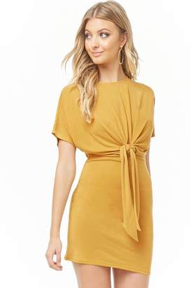 Forever 21 Tie-Front Dolman Dress
