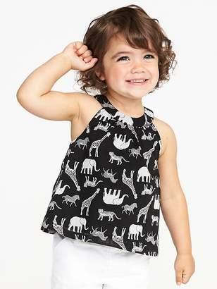 Old Navy Safari-Animal Print Swing Tank for Toddler Girls