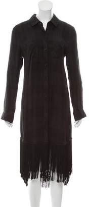 Rails Plaid Button-Up Dress