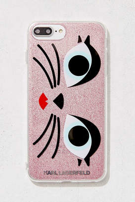 Karl Lagerfeld Glam Choupette iPhone 8/7/6 Plus Case