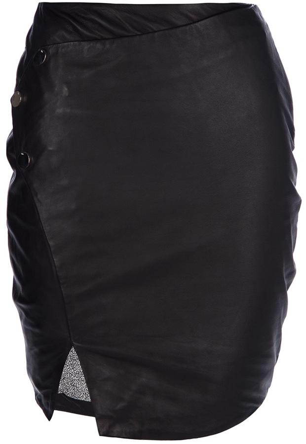 Twenty8Twelve wrap around fitted skirt