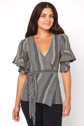 Free People Wrapped Around My Finger Striped Top