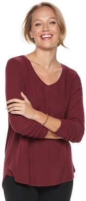 Sonoma Goods For Life Women's SONOMA Goods for Life Supersoft V-Neck Tee