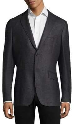 Etro Birdseye Silk & Wool Sportcoat