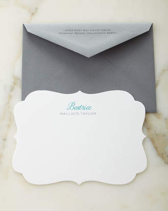 Carlson Craft Crest Personalized Cards with Personalized Envelopes
