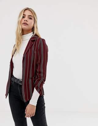 Parisian stripe blazer