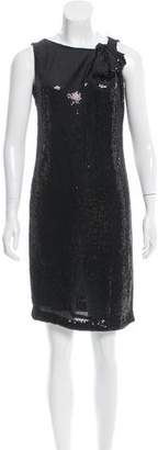 Tory Burch Silk Sequined Dress