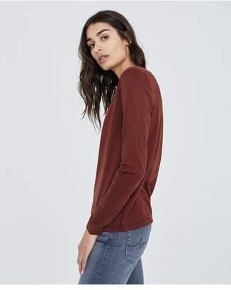 AG Jeans The Cambria Long Sleeve - Rich Crimson