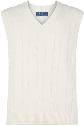 Polo Ralph Lauren Cable Knit Cricket Vest