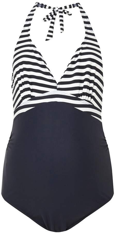 *Mamalicious Maternity Navy Swimsuit