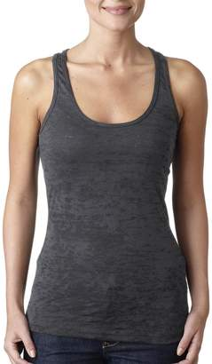 Next Level Apparel Next Level Baby Rib-Knit Sleeveless Burnout Tank Top
