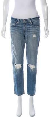 Rag & Bone Boyfriend Mid-Rise Jeans