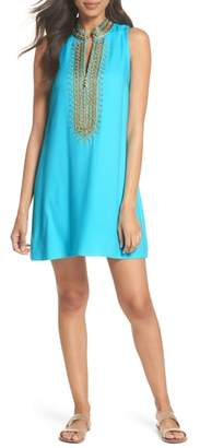 Lilly Pulitzer R) Jane Embroidered Shift Dress