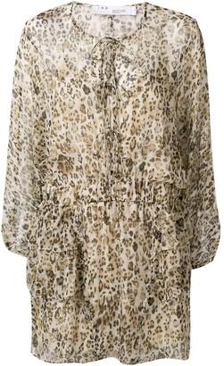 IRO long sleeved summer dress