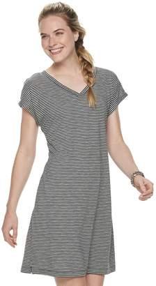 Sonoma Goods For Life Women's SONOMA Goods for Life V-Neck Dolman T-Shirt Dress