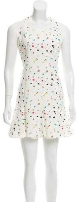 Akris Punto Sleeveless Printed Dress