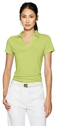 PGA TOUR Women's Airflux Short Sleeve Polo