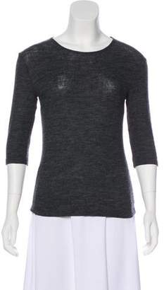 Dolce & Gabbana Wool Long Sleeve Top