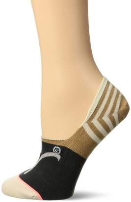 Stance Women's Aries Zodiac Astrology Print Super Invisible Sock