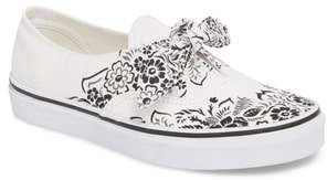 Vans UA Authentic Knotted Floral Bandana Slip-On Sneaker