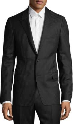 Lanvin Pinstripe Suit Jacket