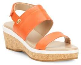 Cole Haan  Thandie Grand Open-Toe Leather Sandals