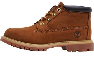 Timberland Womens Nellie Chukka Leather Suede Boots Rust