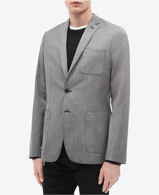 Calvin Klein Men's Slim-Fit Patch-Pocket Blazer