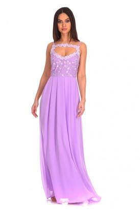AX Paris Lace Top Maxi Dress