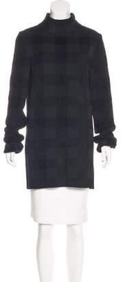Celine Gingham Knit Sweater