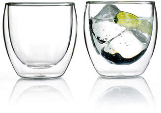 Bodum Pavina Set of 2 Double Walled 8.5 Oz. Glasses