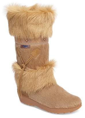 Pajar Laura Genuine Goat Fur Waterproof Boot