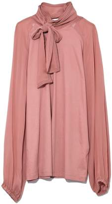 Schumacher Dorothee Tender Flow Blouse in Pale Mulberry