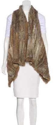 LaROK Knitted Fur Vest