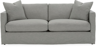 One Kings Lane Shaw Slipcover Sofa - Mist Crypton