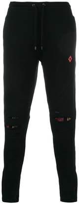 Marcelo Burlon County of Milan biker jogging trousers