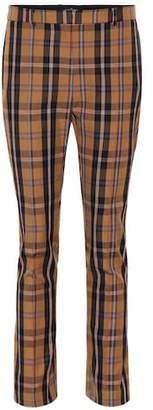 Rokh Plaid skinny pants