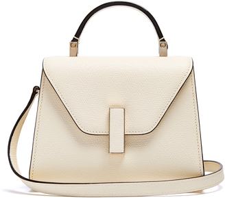 VALEXTRA Iside mini grained-leather bag $1,980 thestylecure.com