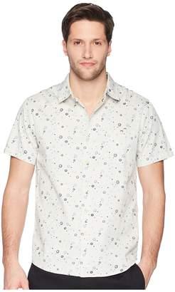 VISSLA Creators Woven Top Men's Short Sleeve Button Up