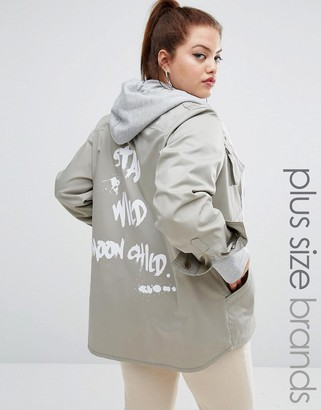 One One Three Graffiti Shacket $76 thestylecure.com