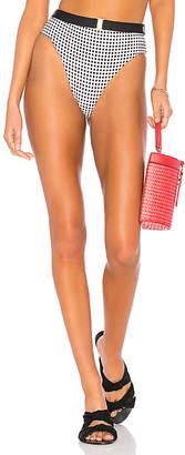 Onia x WeWoreWhat Emily High Waisted Bikini Bottom