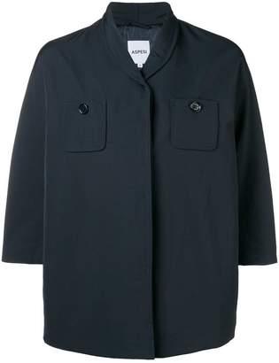 Aspesi short-sleeve fitted coat