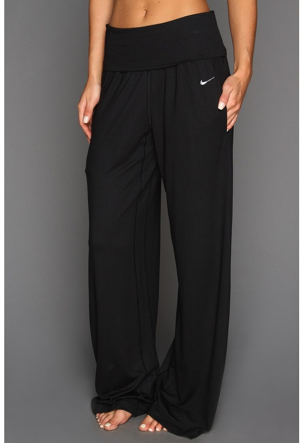 Nike - Ace Wide Yoga Pant (Black/Black) - Apparel