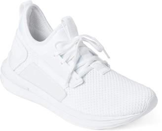 Puma White Ignite Limitless SR Running Sneakers