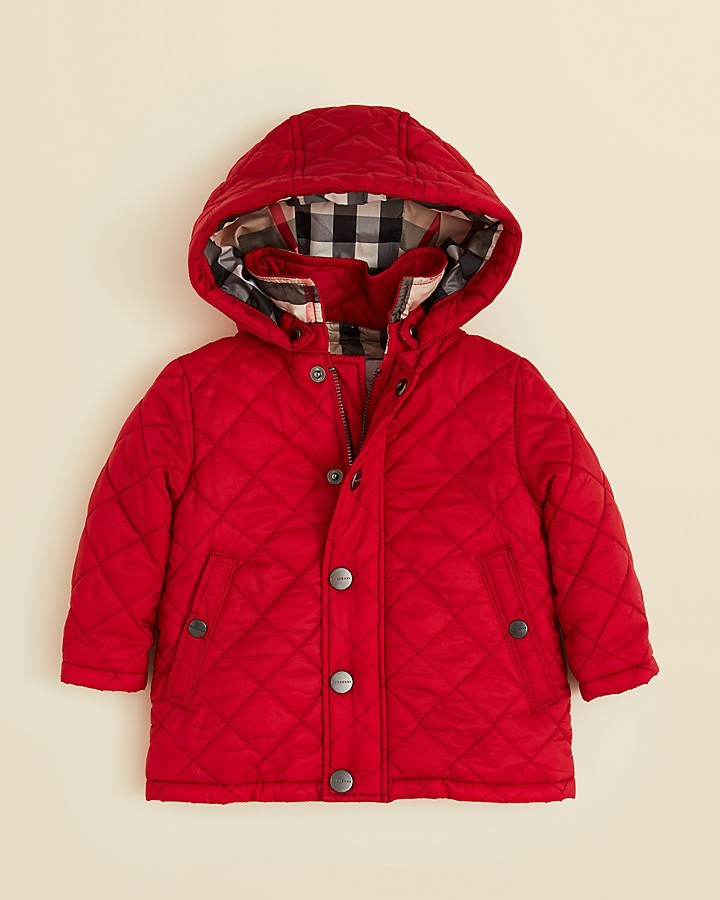 Burberry Infant Boys' Jerry Quilted Jacket - Sizes 6-24 Months