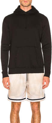 John Elliott Vintage Fleece Hoodie in Vintage Black | FWRD