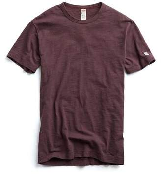 Todd Snyder + Champion Champion Classic T-Shirt in Plum