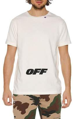 Off-White Men's Wing Off Graphic Slim T-Shirt